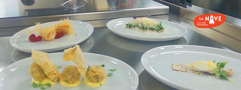 platos desafío en la cocina